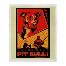 Obey the Pit Bull Blanket