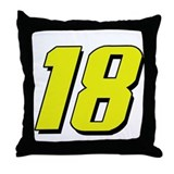 KB18yw Throw Pillow
