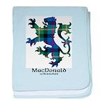 Lion - MacDonald of Borrodale baby blanket