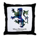 Lion - MacDonald of Borrodale Throw Pillow