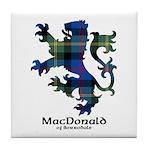 Lion - MacDonald of Borrodale Tile Coaster