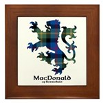 Lion - MacDonald of Borrodale Framed Tile