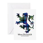 Lion - MacDonald of Borrodale Greeting Cards (Pk o