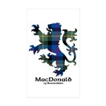 Lion - MacDonald of Borrodale Sticker (Rectangle 1