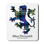 Lion - MacDonald of Borrodale Mousepad