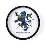 Lion - MacDonald of Borrodale Wall Clock
