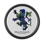 Lion - MacDonald of Borrodale Large Wall Clock