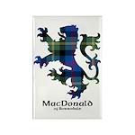 Lion - MacDonald of Borrodale Rectangle Magnet (10