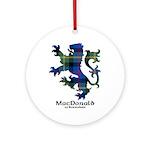 Lion - MacDonald of Borrodale Ornament (Round)