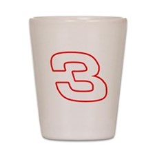 DE3wht Shot Glass