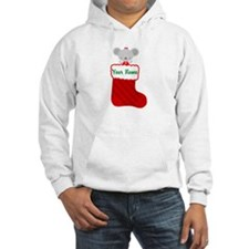 Personalized Christmas Mouse Hoodie