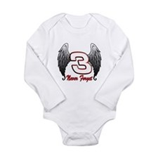 DE3wings Long Sleeve Infant Bodysuit