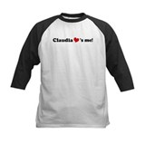Claudia loves me Tee