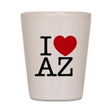 I Heart Arizona Shot Glass