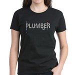 Plumber Pipes Women's Dark T-Shirt