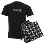 Plumber Pipes Men's Dark Pajamas