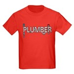 Plumber Pipes Kids Dark T-Shirt