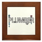 Plumber Pipes Framed Tile