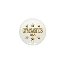 USA Gymnastics Mini Button (10 pack)