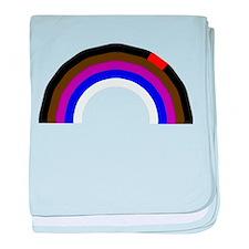 BJJ Loop - Colors of Progress baby blanket