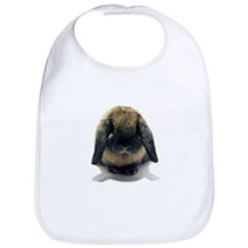 Holland Lop Rabbit Tort Bib