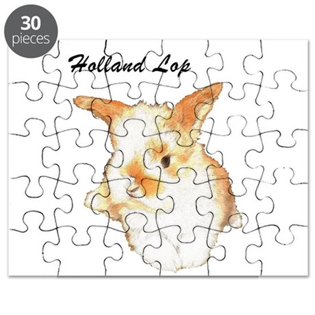 Holland Lop Rabbit Puzzle