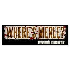The Walking Dead Merle Sticker (Bumper)