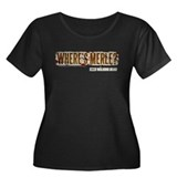 The Walking Dead Merle Women's Plus Size Scoop Tee