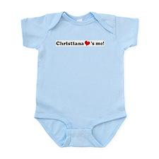 Christiana loves me Infant Creeper