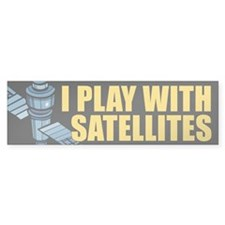 Satellite Bumper Bumper Sticker
