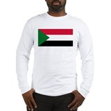Flag of Sudan Long Sleeve T-Shirt