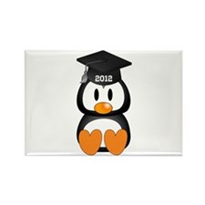 Custom Graduation Penguin Rectangle Magnet