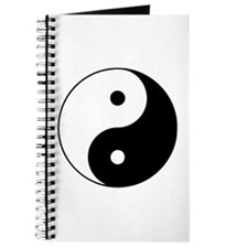 Yin Yang Symbol Journal