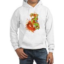 Flaming Dragon -Year Of The Dragon Hoodie