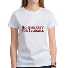 Immigrant No Amnesty D23 Tee