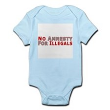 Immigrant No Amnesty D23  Infant Creeper