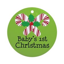 Baby's 1st Christmas Candy Cane Ornament
