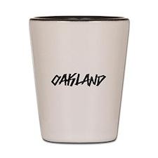Oakland (www.repoakland.com) Shot Glass