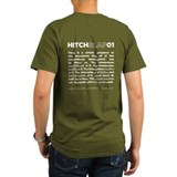 Christopher Hitchens Hitchslap 01 Blue T-shirt