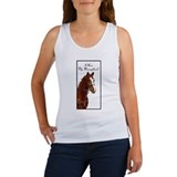 I Love My Thoroughbred! Women's Tank Top