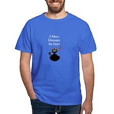Meow Massages the Heart T-Shirt