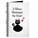 Meow Massages the Heart Journal