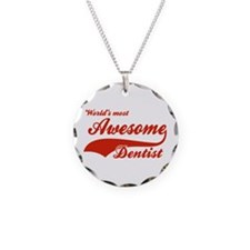 World's Most Awesome Dentist Necklace