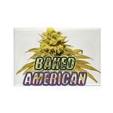 Baked American Rectangle Magnet (10 pack)