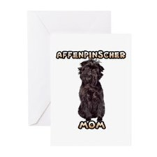 Affenpinscher Mom Greeting Cards (Pk of 20)