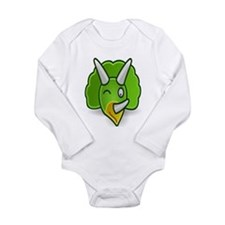 Cute Dinosaur, Infant, Long Sleeve, Onesie