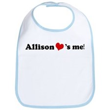 Allison loves me Bib