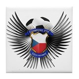 Czech Republic 2012 Soccer Champions Tile Coaster