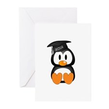 Custom Graduation Penguin Greeting Cards (Pk of 20