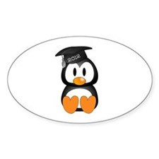 Custom Graduation Penguin Decal